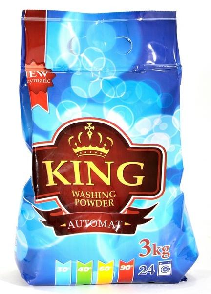 KING 3kg univerzální prací prášek