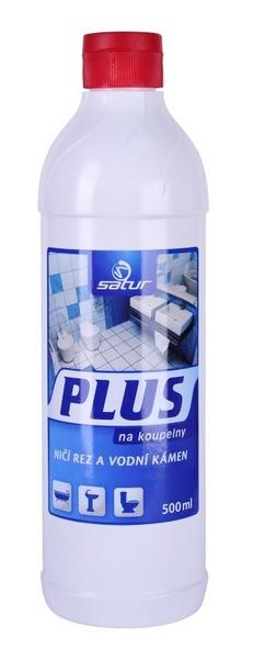 SATUR PLUS 500ml na koupelny na rez a vodní kámen