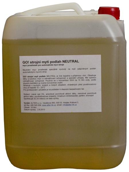 GO! strojní mytí podlah NEUTRAL 10l