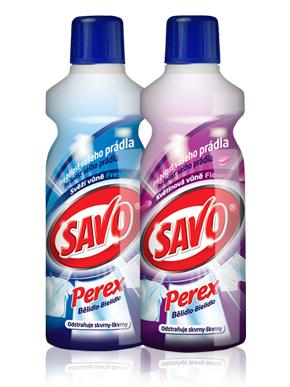 SAVO PEREX 1l bělící přípravek na prádlo