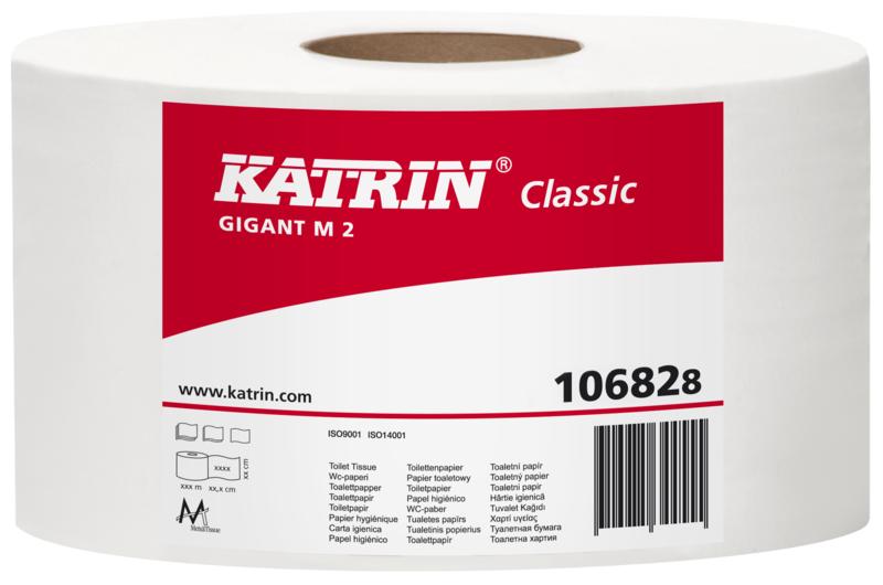 TOALETNÍ PAPÍR Katrin Classic Gigant M2, 230, 285m 10682