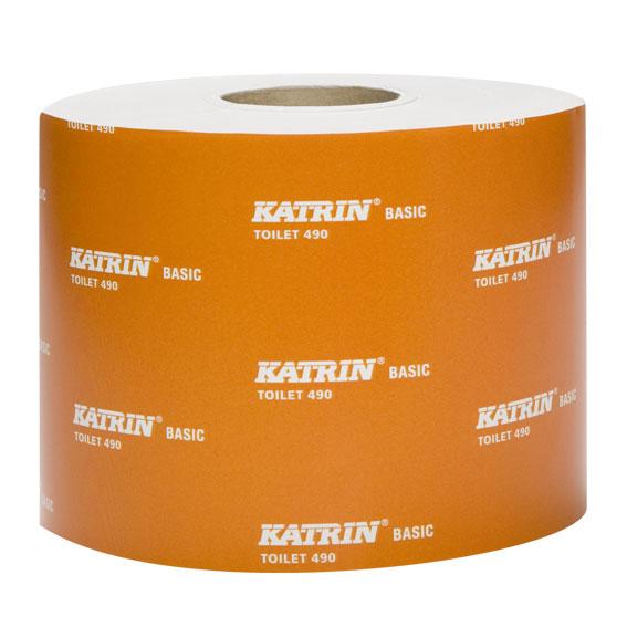 TOALETNÍ PAPÍR Katrin Basic Toilet 490, 68m 12540