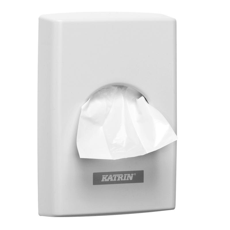 KATRIN zásobník na hygienické sáčky bílý 95375