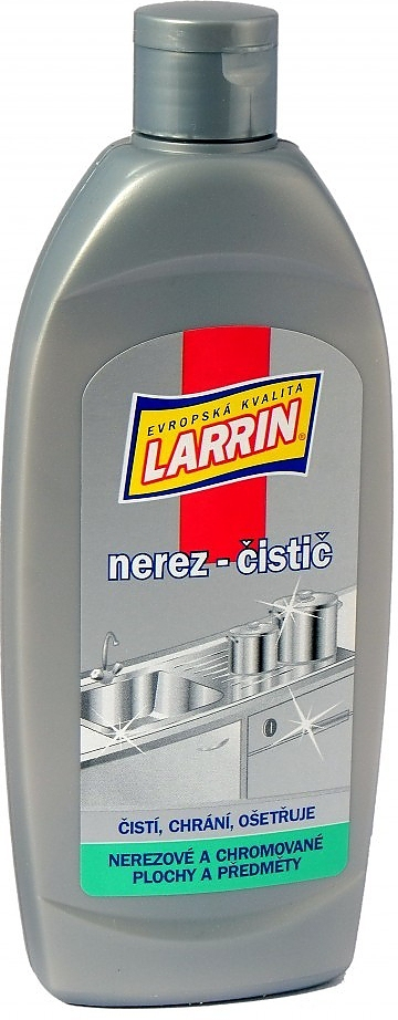 Larrin nerez 250ml čistič na nerez a sklo-keramickou desku