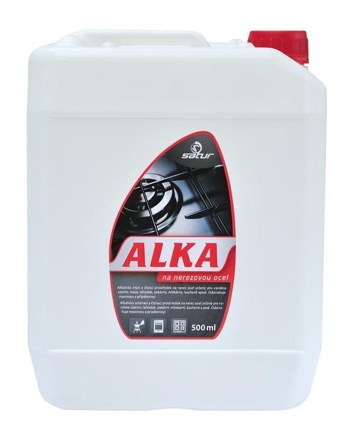 SATUR ALKA 5l alkalický mycí a odmašťovací prostředek