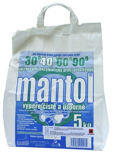MANTOL prací prášek 5kg