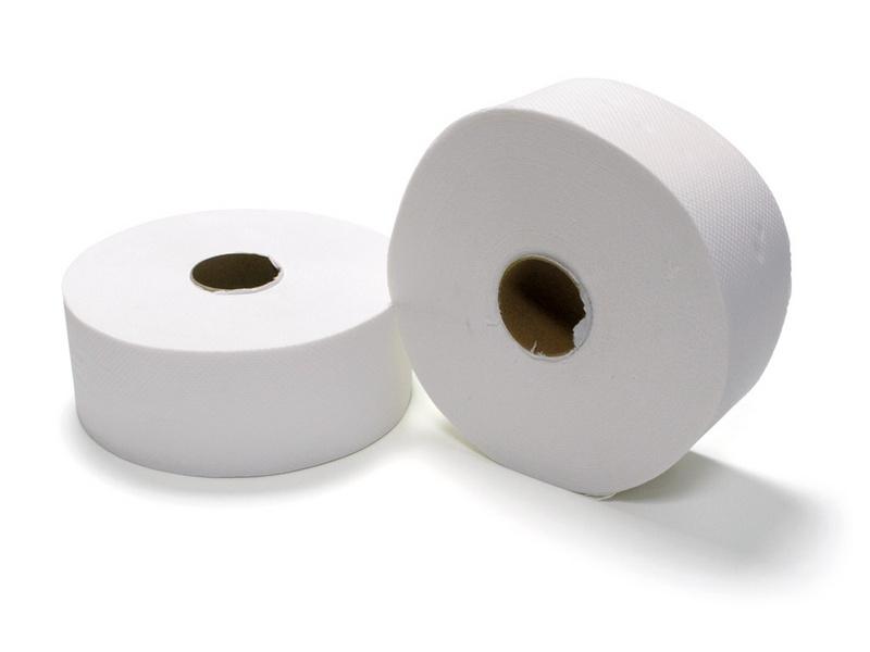 TOALETNÍ PAPÍR JUMBO 190, 2-vrstvý bílý