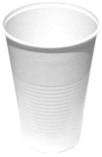 KELÍMEK bílý 500 ml, PP, 50ks