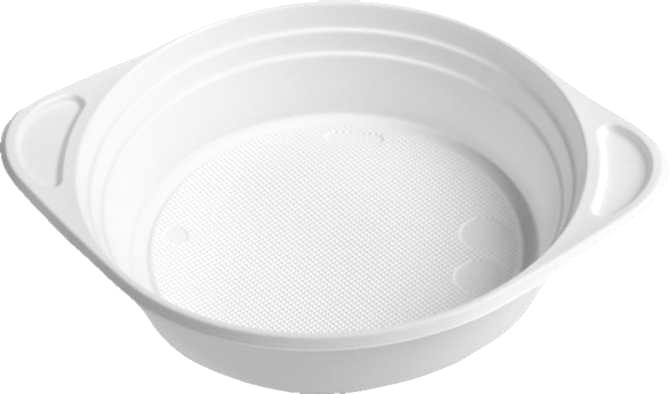 ŠÁLEK na polévku bílý 350 ml, PP, 100ks