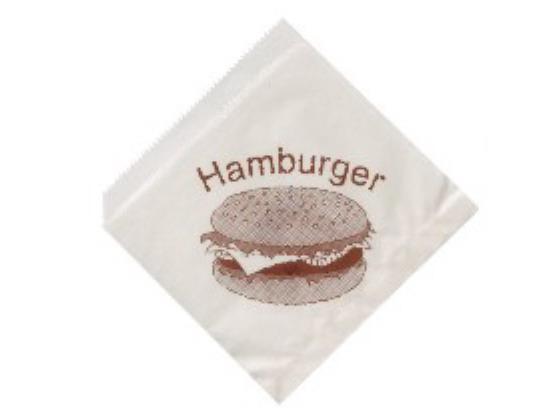 SÁČKY NA HAMBURGER 15 x 16 cm, 500ks