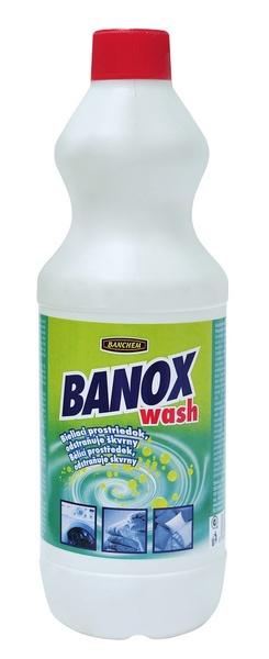 BANOX WASH 1l bělící přípravek na prádlo