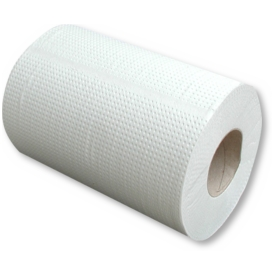 PAPÍROVÉ RUČNÍKY ROLOVANÉ MIDI 2-vrstvé bílé 500g
