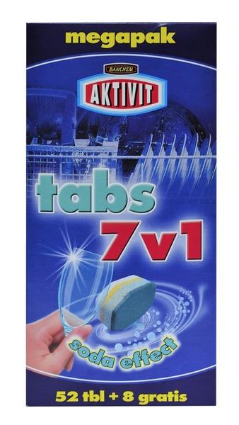 AKTIVIT TABS 7v1 tablety do myčky nádobí 60t.