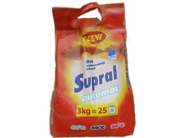 SUPRAL 3kg univerzální prací prášek